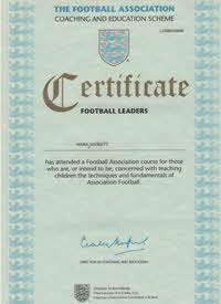 1996 FA Football Leaders