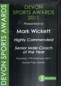 2011 Male Coach of the Year
