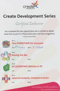 2015 Create Development Series Certified Deliverer